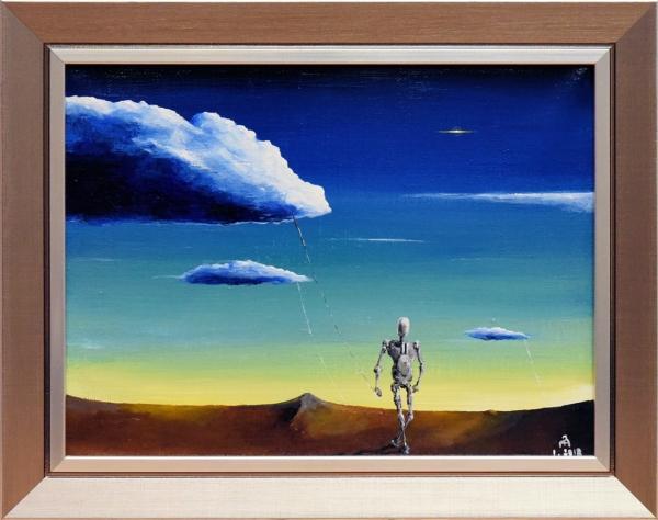 Картина «Принеси воду» - живопись, автор Павел Яковлев, холст, масло, 18×24 см, 2012 год в раме