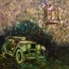 Картина «Ретро-2» — живопись, автор Елена Цветкова, холст, масло, 60×60 см, 2016 год
