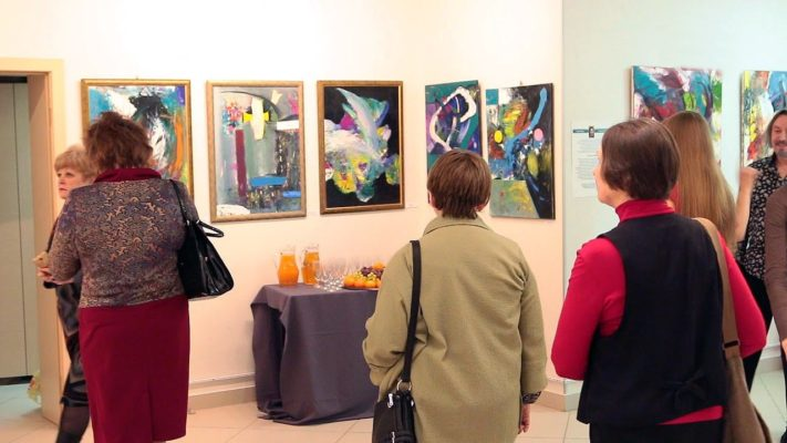 В арт-галерее «Мост» проходила выставка «Магический квадрат»