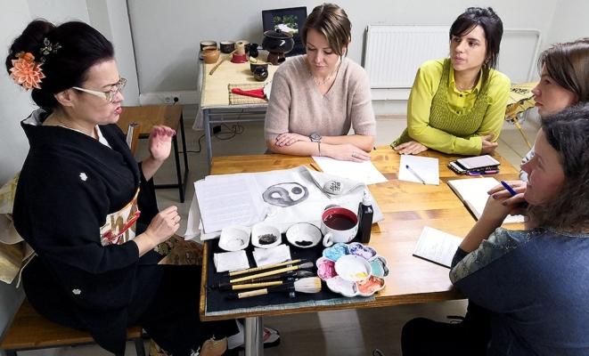 Курс японской живописи «Суми-э»