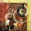 Картина «Шоколадный вечер» - автор Елена Цветкова, живопись, холст, масло, 60×60 см, 2016 год.