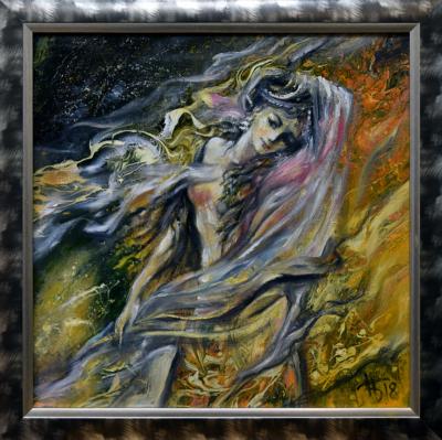 Картина «Ветер воспоминаний» в раме