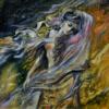 Картина «Ветер воспоминаний» - автор Баженова Наталья, живопись, холст, масло, 50×50 см, 2018 год.