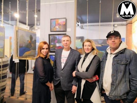 Выставка в Арт Галерее Мост — ЛАНДШАФТЫ Открытие