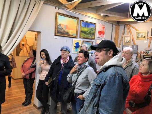 Выставка в Арт Галерее Мост — ЛАНДШАФТЫ Открытие в Химках