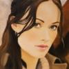Картина «Оливия» - автор художник Сергей Елизаров, живопись, холст, масло, 40×30 см, 2013 год.