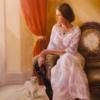 Картина «Ожидание» - автор художник Сергей Елизаров, живопись, холст, масло, 50×60 см, 2017 год.