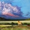 Картина «Почему лев не имеет логова» - автор художник Сергей Елизаров, живопись, холст, масло, 50×70 см, 2016 год.
