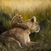 Картина «Уверенность» - автор художник Сергей Елизаров, живопись, холст, масло, 40×60 см, 2019 год.
