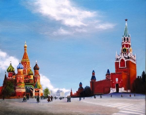 Картина «Красная площадь»