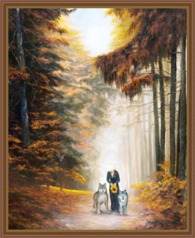Картина «Сумеречный дозор» - автор художник Сергей Елизаров,