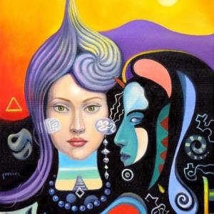 Картина «Астарта и Гипноз»