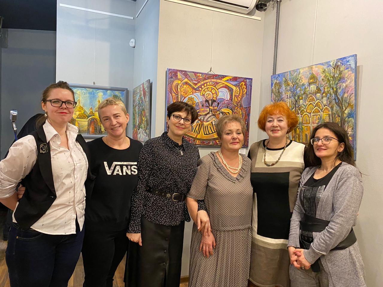 Открытие персональной выставки Татьяны Листопад